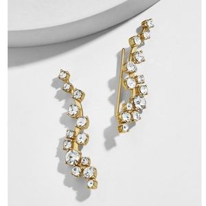 NWT Baublebar Farah ear crawler earrings